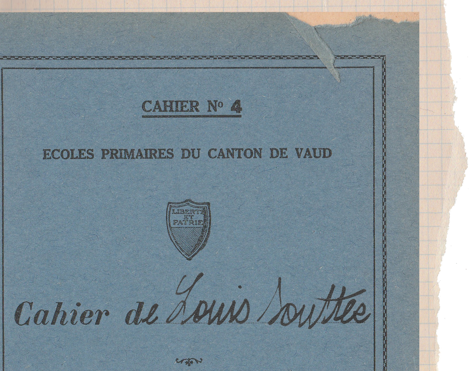 RECONSTITUTION VIRTUELLE DES CAHIERS DEMANTELES DE LOUIS SOUTTER